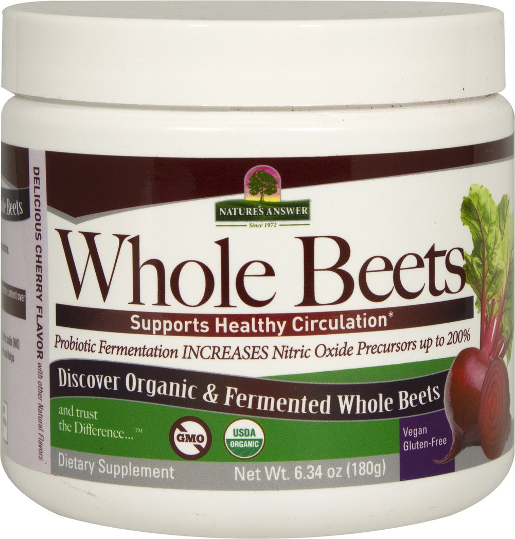 Whole Beets Powder Organic Fermented