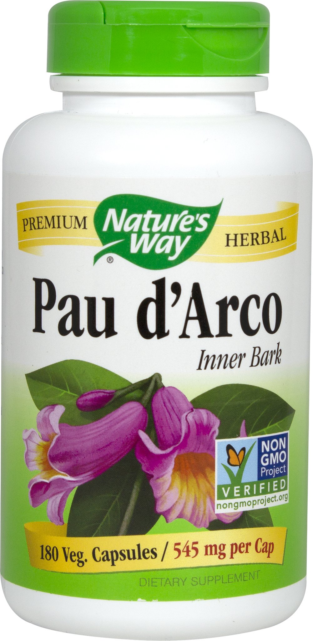 Pau d'Arco 545 mg Thumbnail Alternate Bottle View