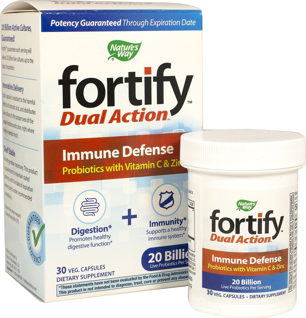 Fortify™ Probiotic Dual Action Immune Defense**