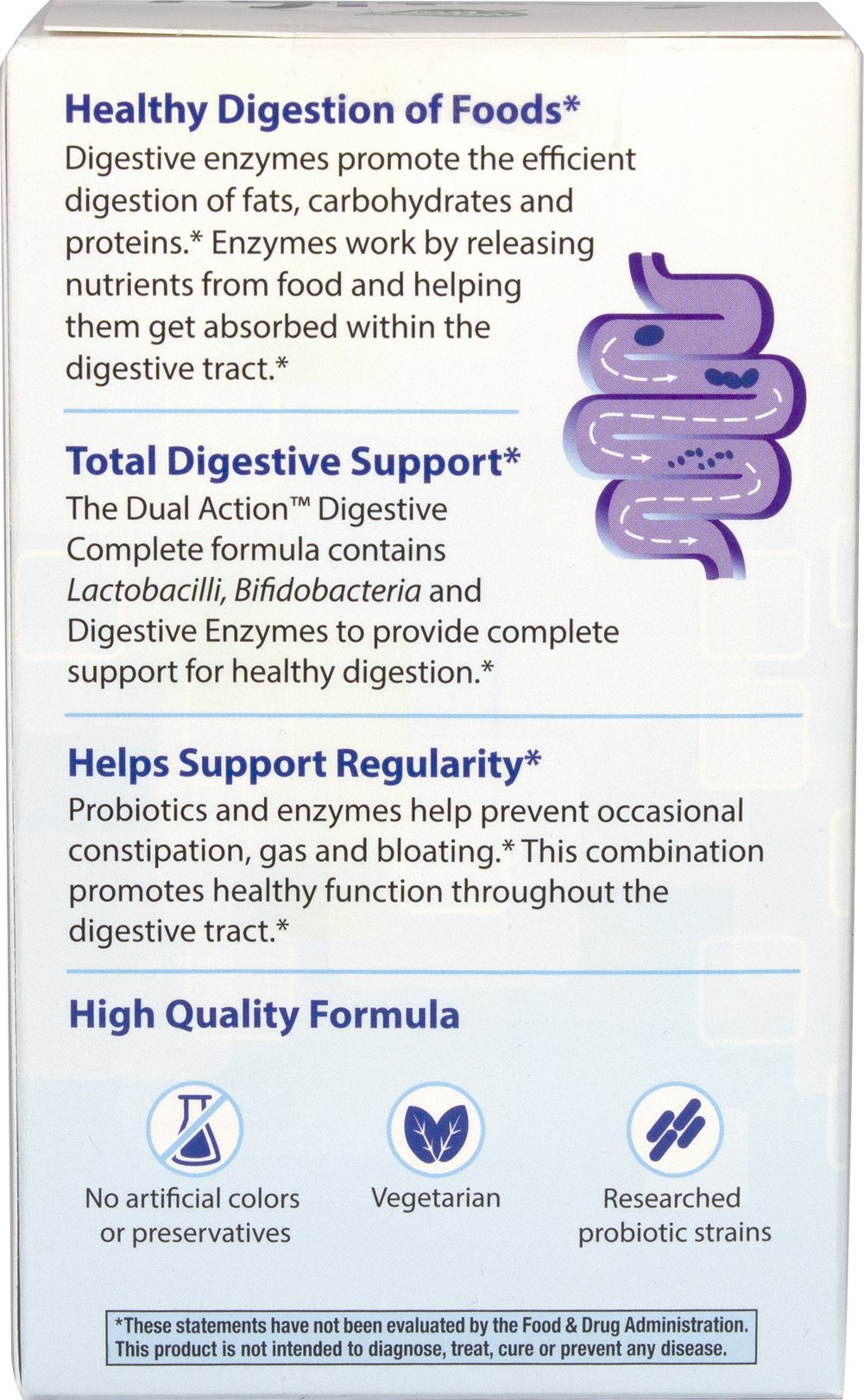 Fortify™ Probiotic Dual Action Digestive Complete