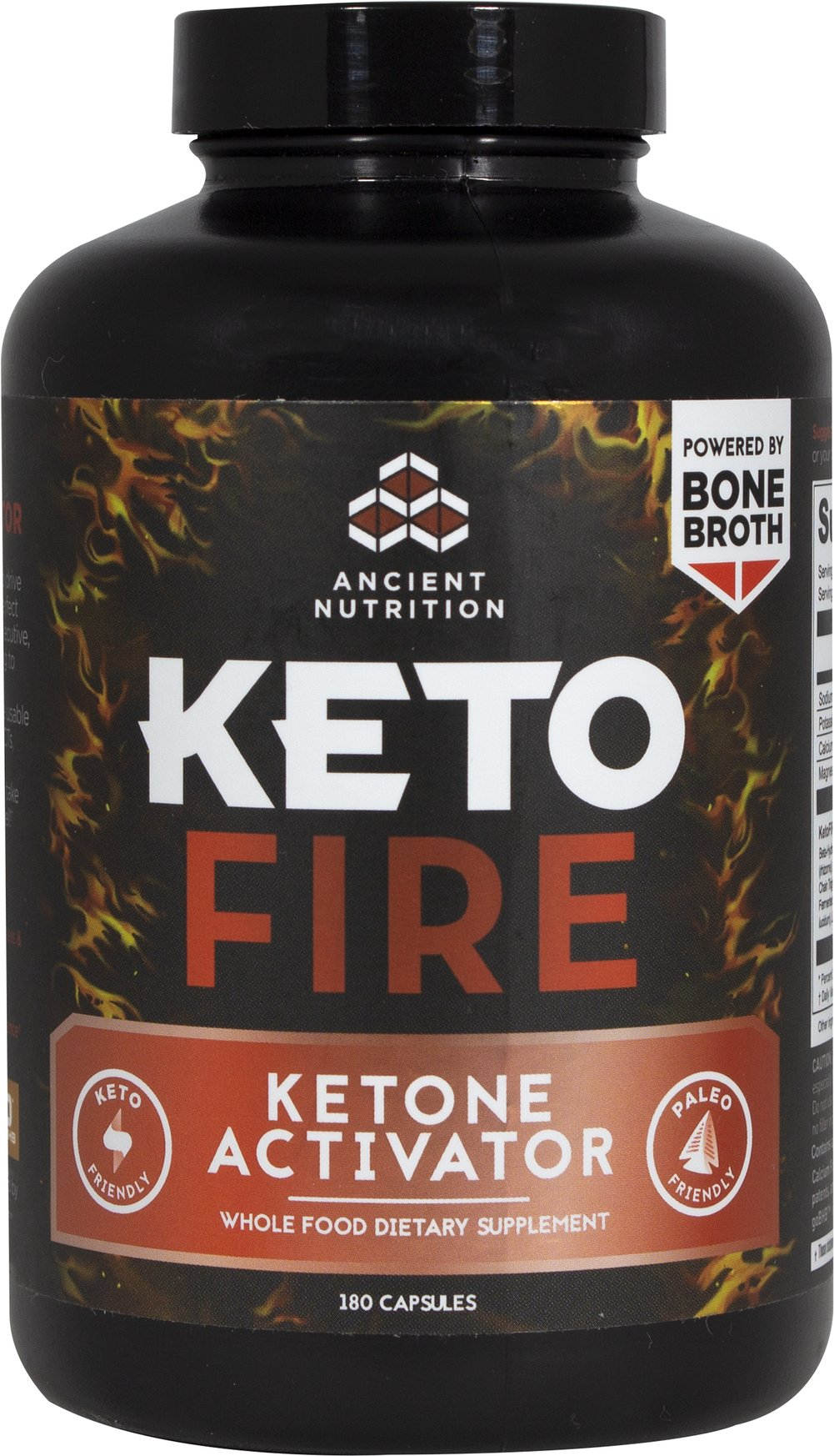 KetoFIRE Thumbnail Alternate Bottle View