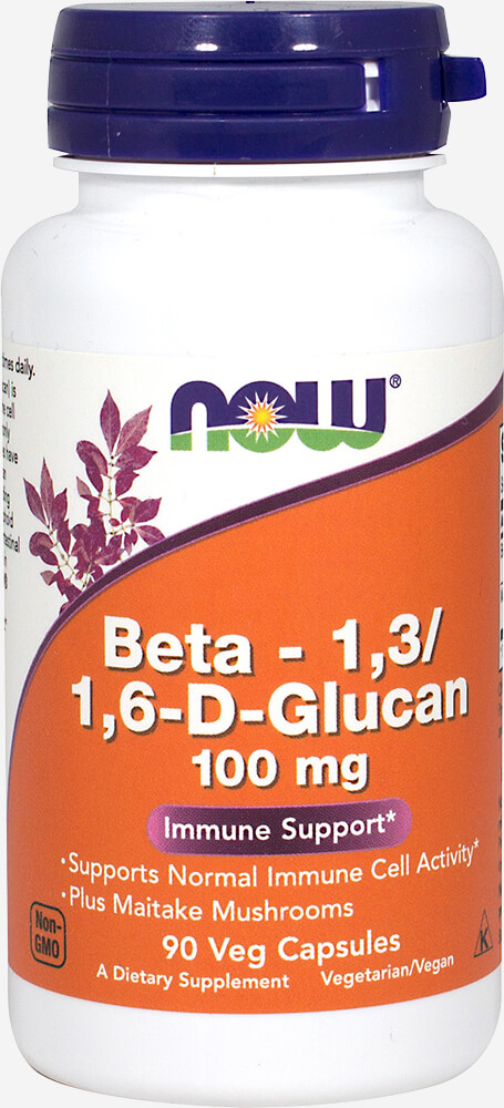 Beta-1,3/1,6-D-Glucan 100 mg Thumbnail Alternate Bottle View
