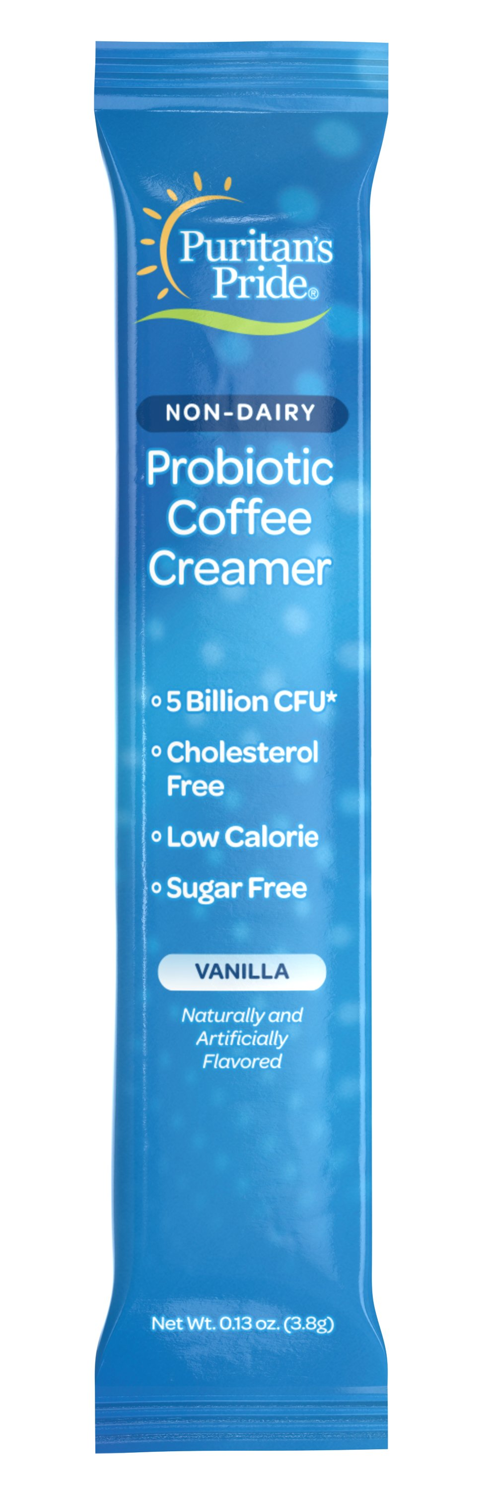 Non-Dairy Probiotic Coffee Creamer Vanilla Thumbnail Alternate Bottle View