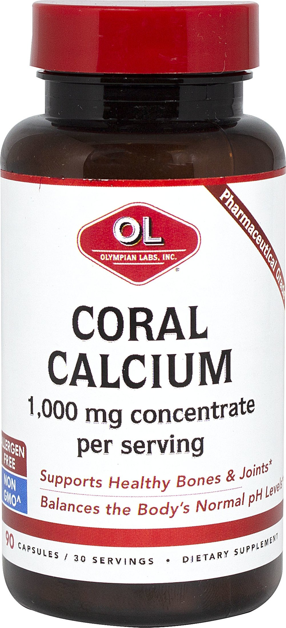 Coral Calcium Thumbnail Alternate Bottle View