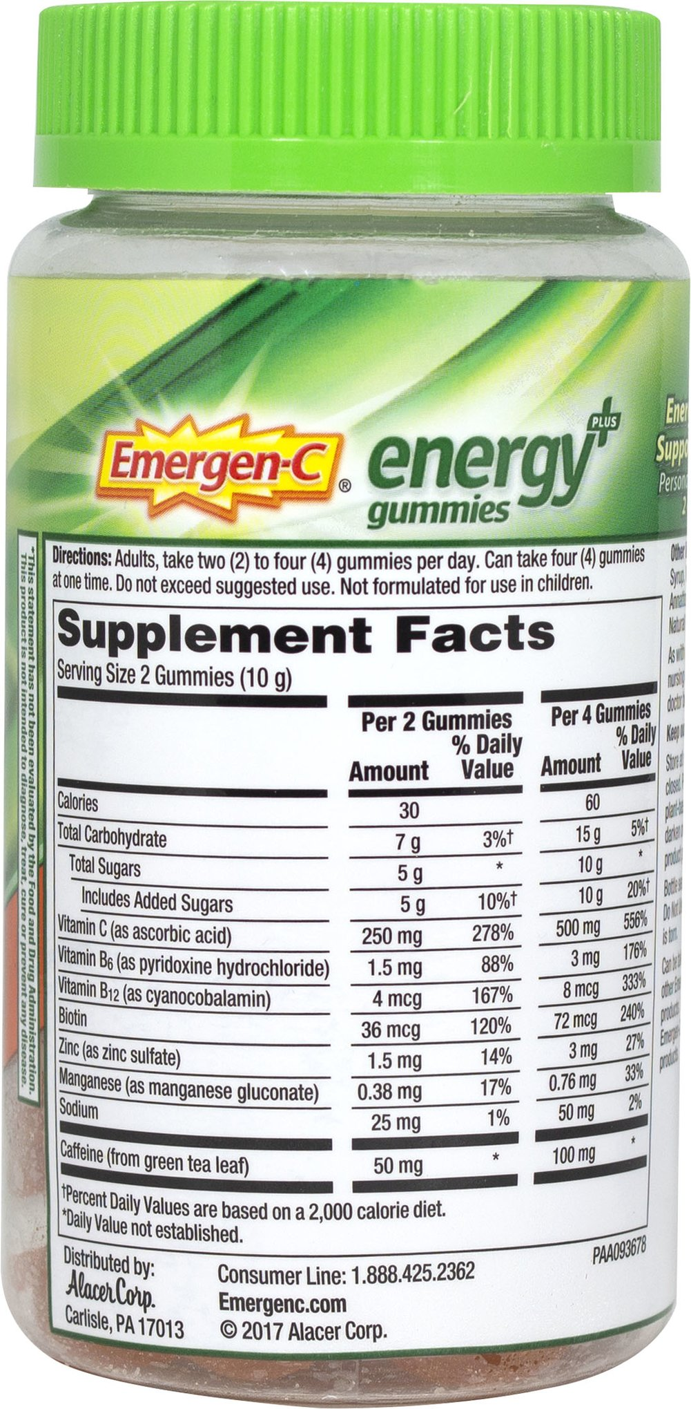 Energy Gummies Plus