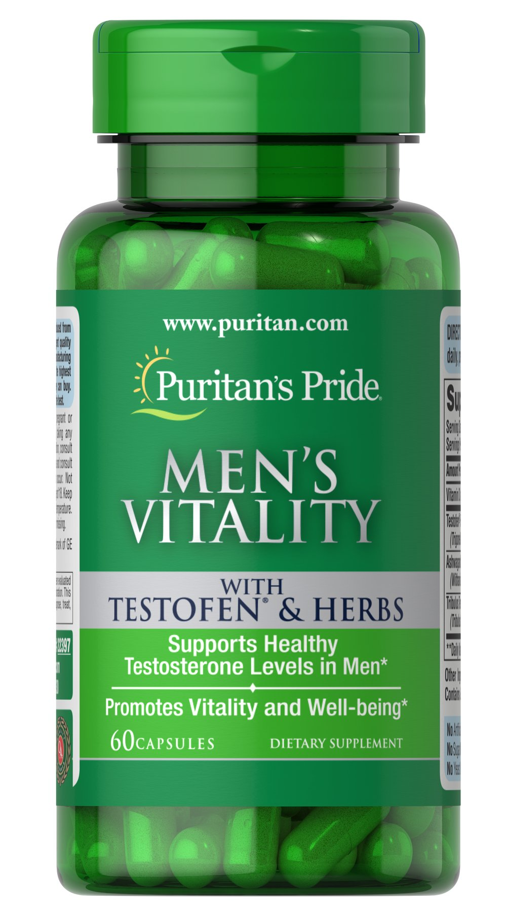 Men's Vitality with Testofen® Thumbnail Alternate Bottle View