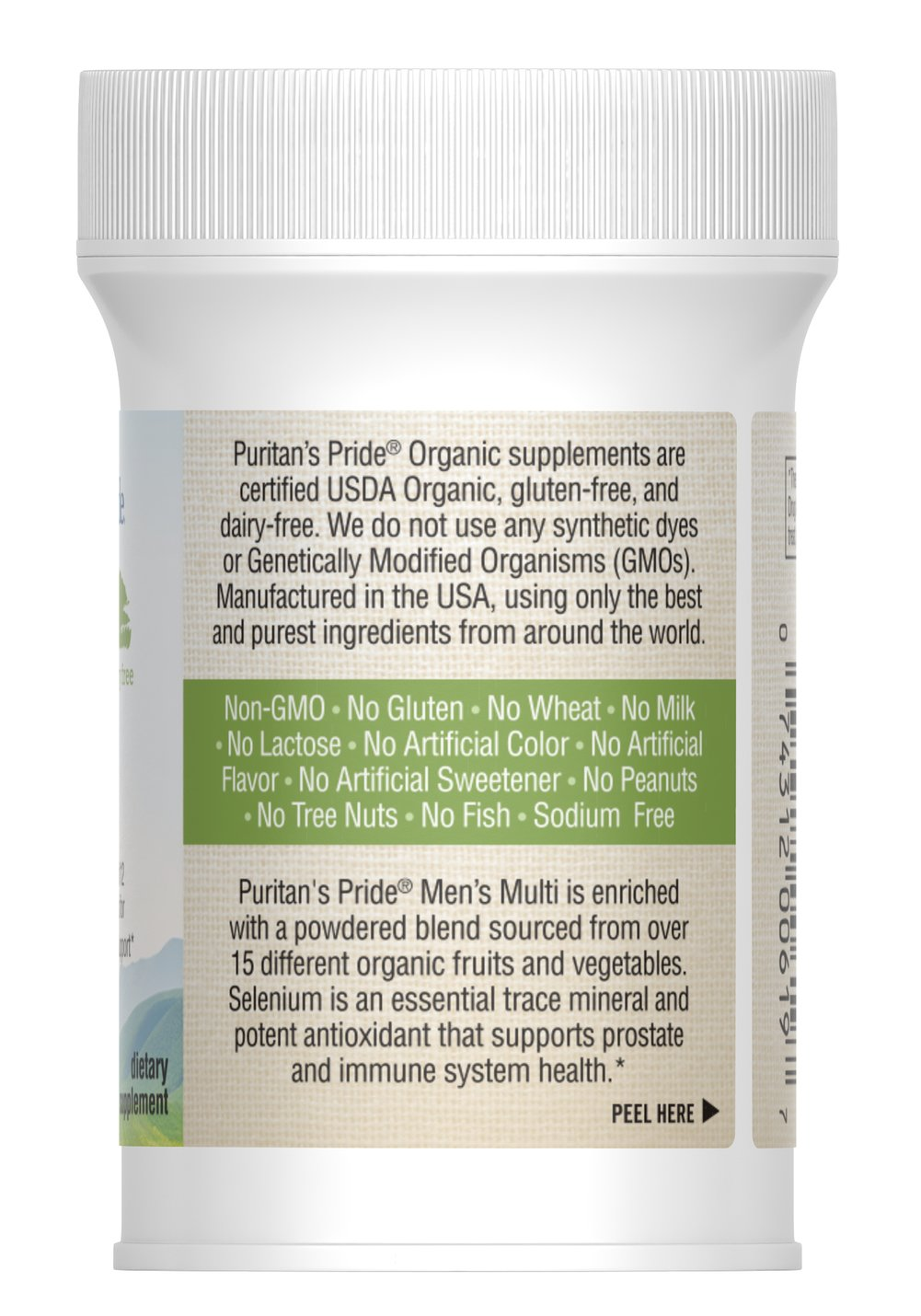 Organic Men's Multi with Zinc