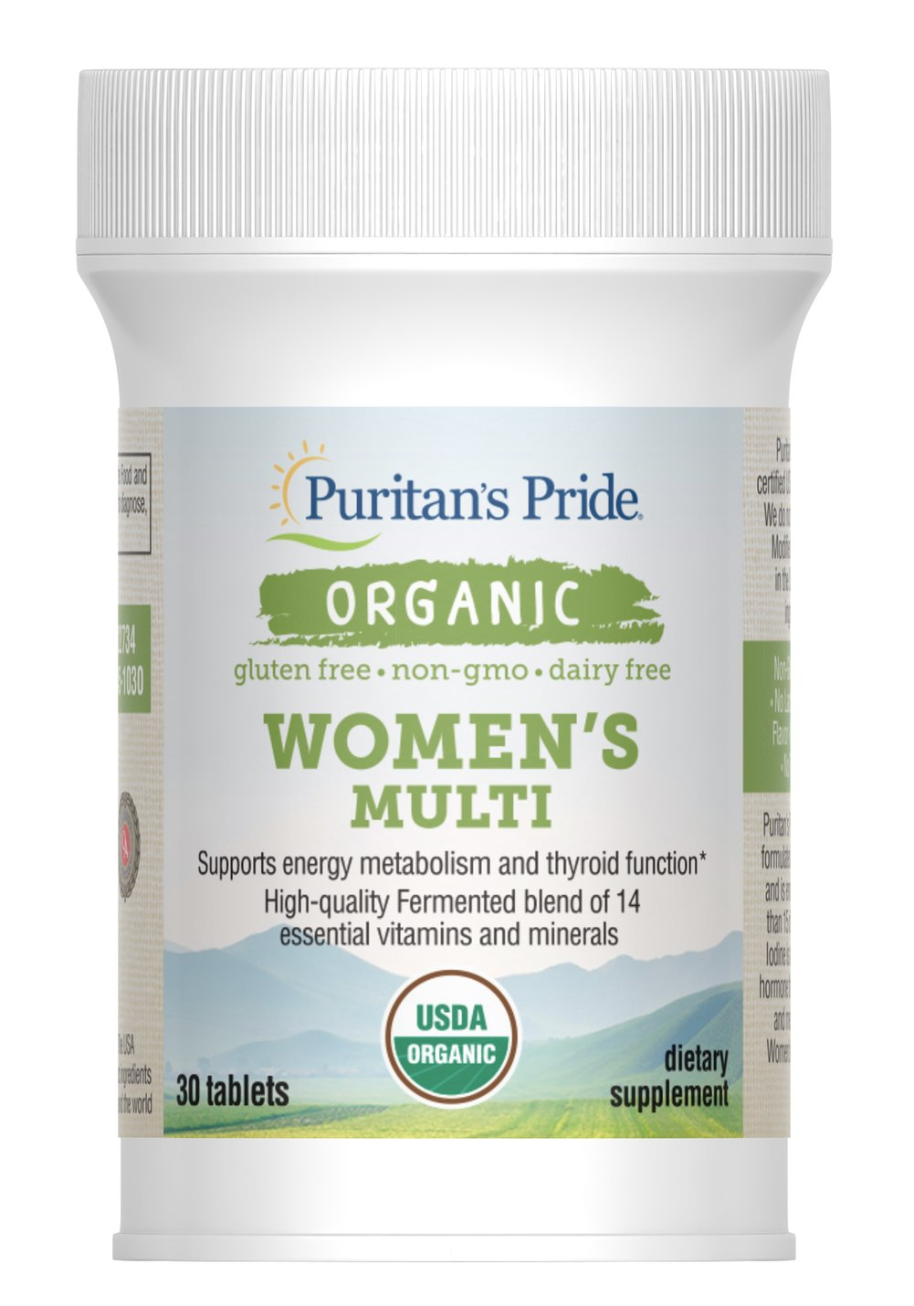 Organic Women's Multi with Zinc