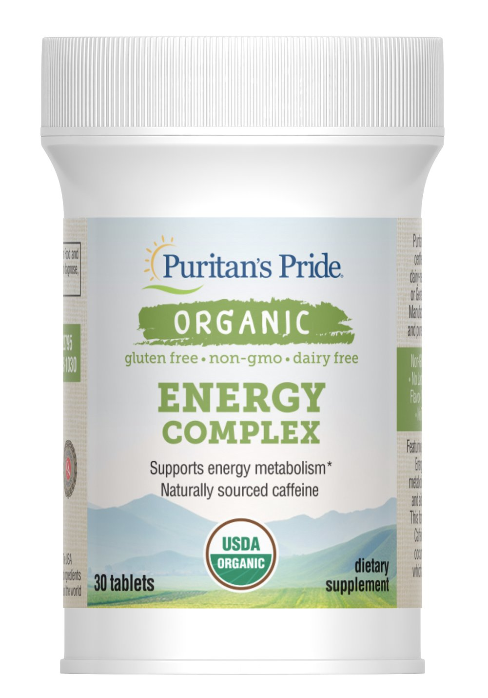 Organic Energy Complex Thumbnail Alternate Bottle View