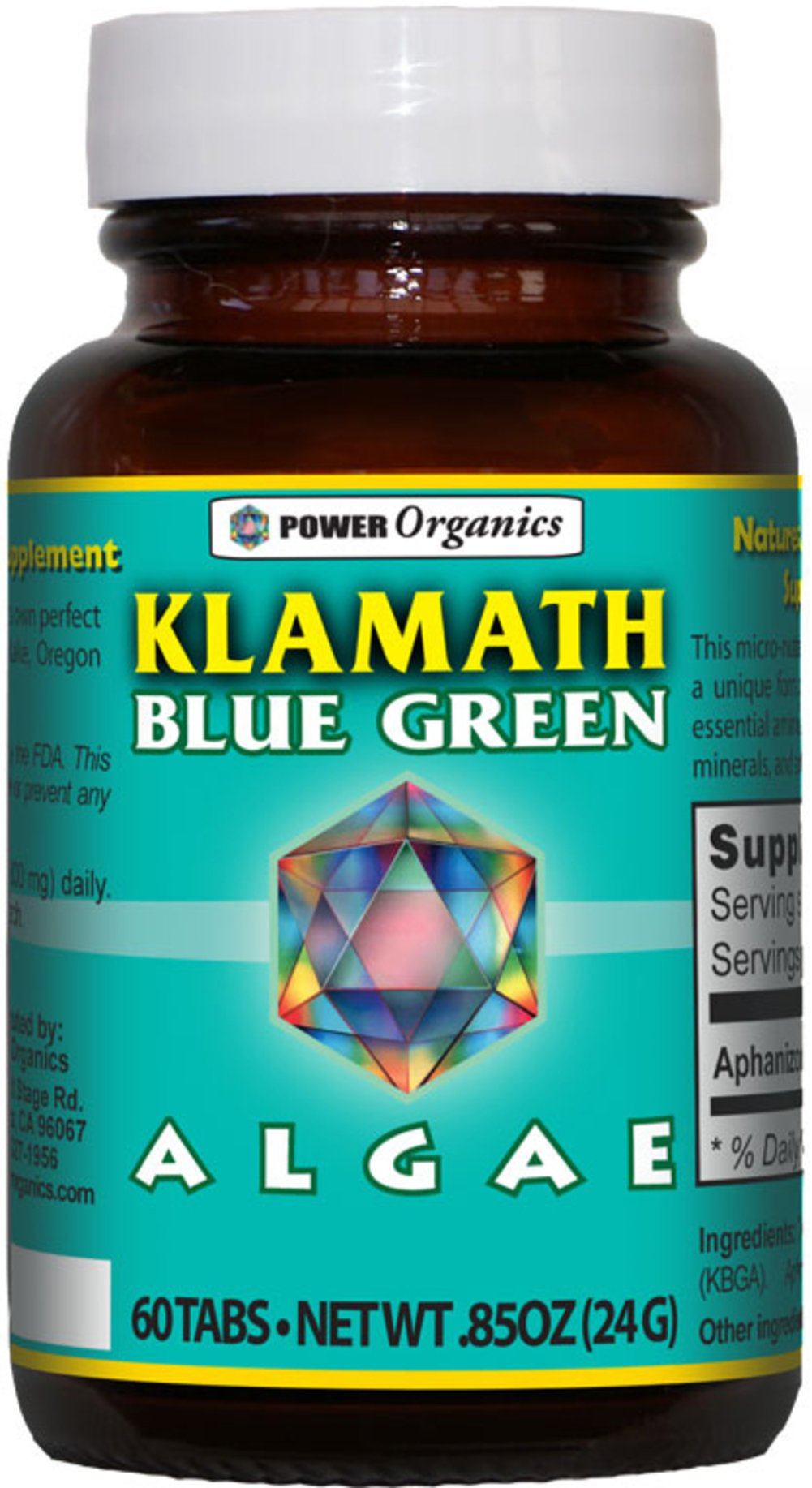 Klamath Blue Green Algae Superfood
