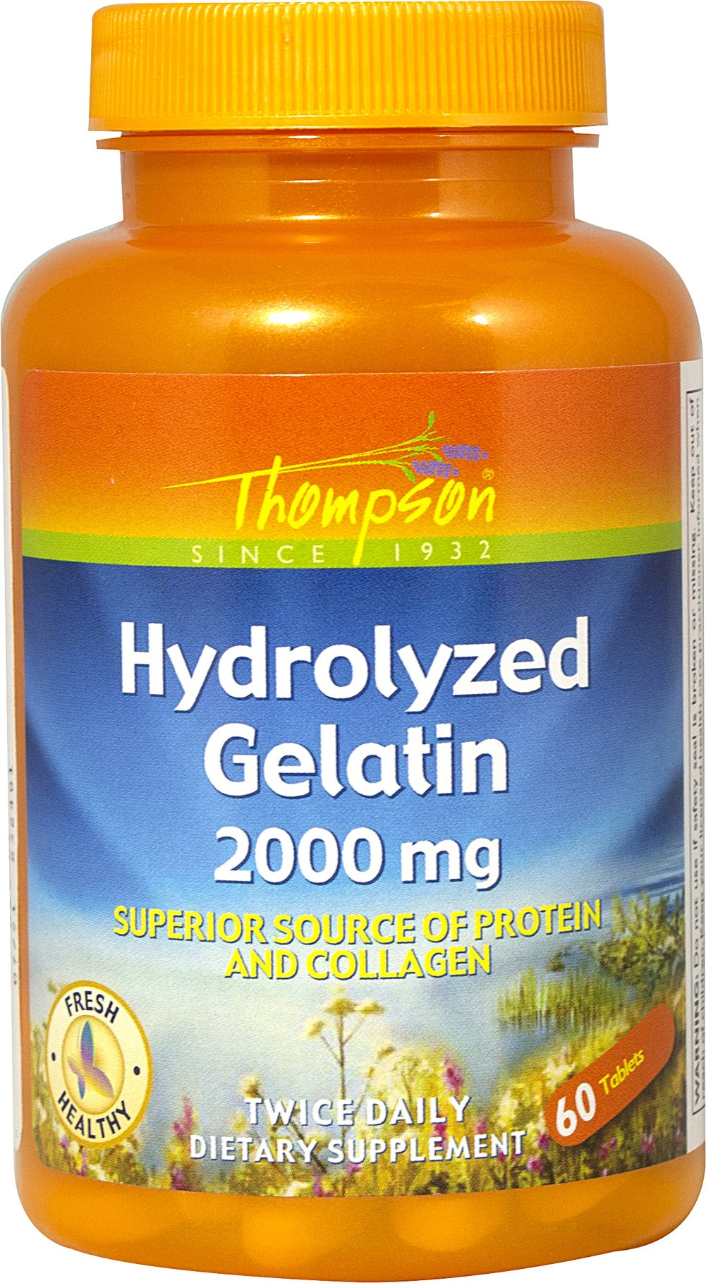 Hydrolyzed Gelatin 2000 mg