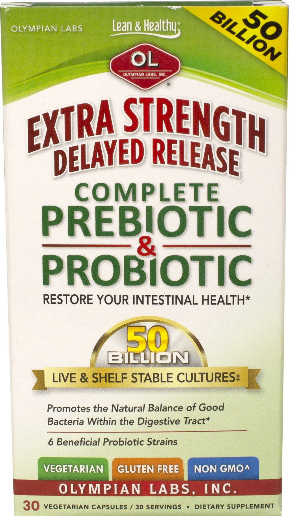 Extra Strength Complete Probiotic & Prebiotic Delayed Release 50 Billion