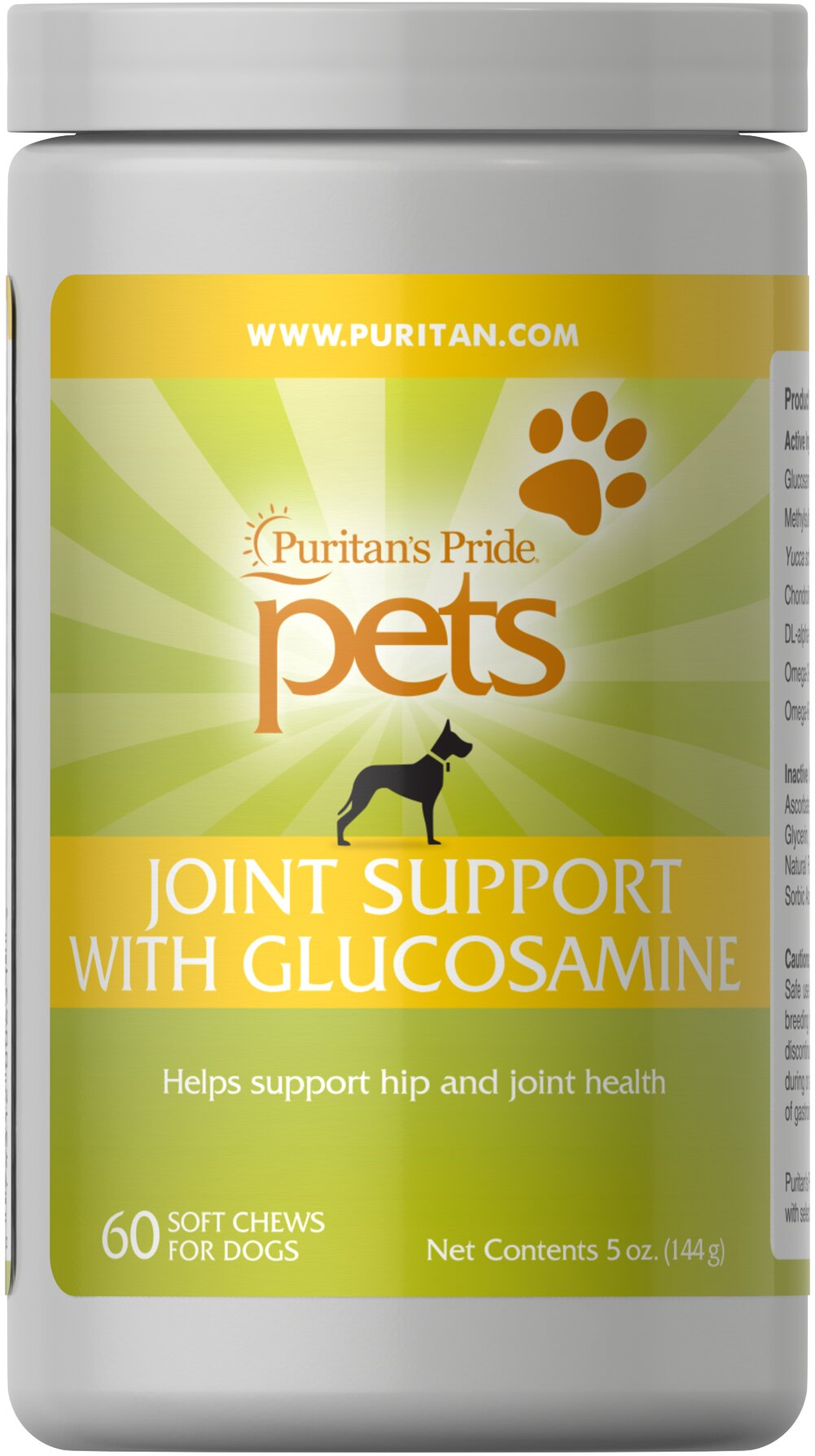 Joint Support for Dogs Thumbnail Alternate Bottle View