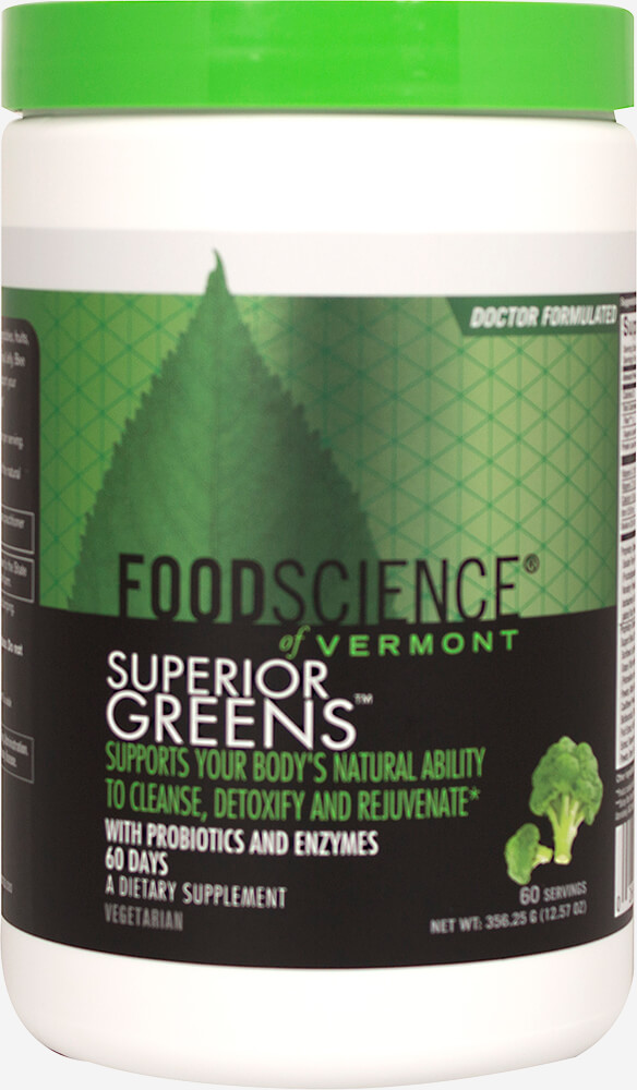 Superior Greens Thumbnail Alternate Bottle View