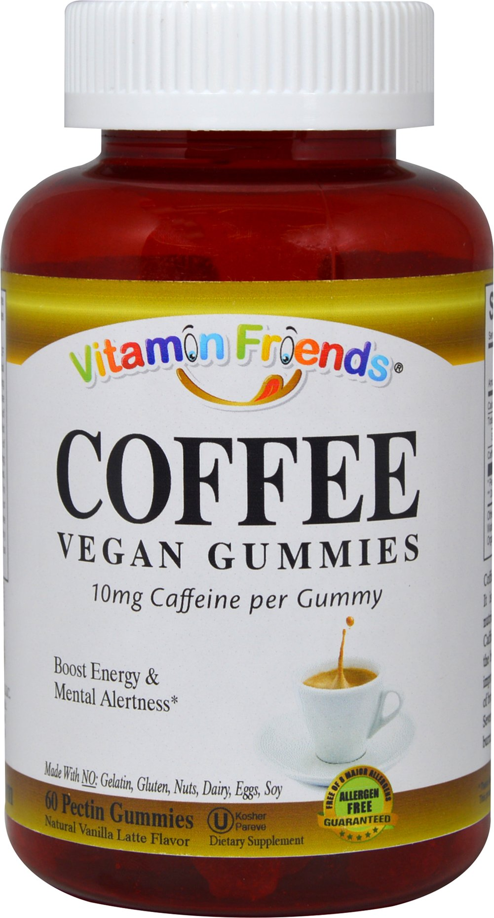 Coffee Vegan Gummies Vanilla Latte Flavor