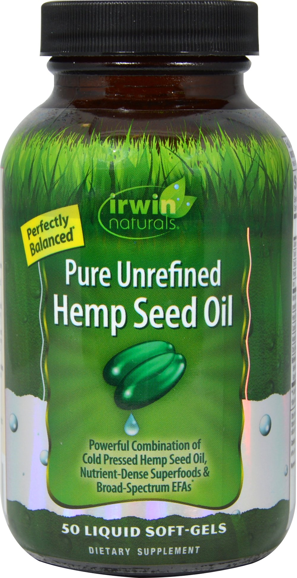 Pure Unrefined Hemp Seed Oil