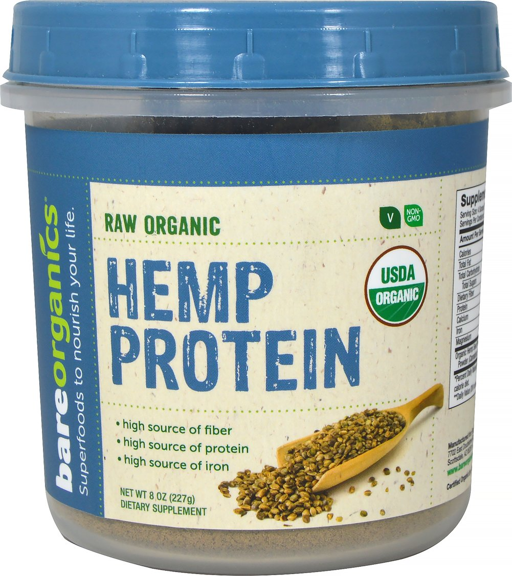 Raw Organic Hemp Seed Protein Powder
