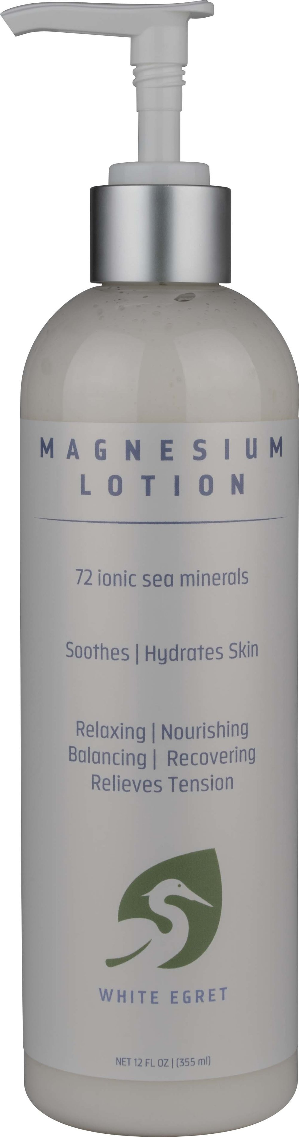 Magnesium Lotion Thumbnail Alternate Bottle View