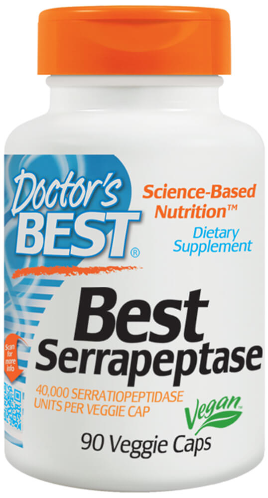 Serrapeptase Thumbnail Alternate Bottle View