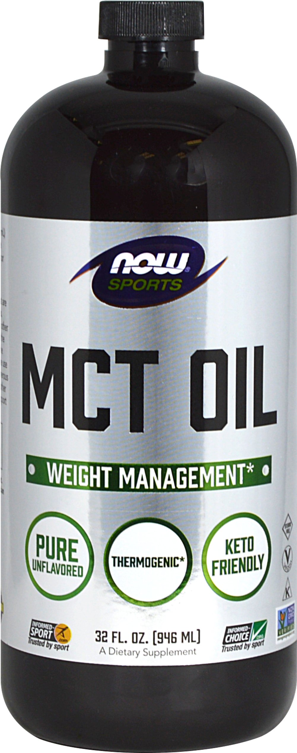 MCT Oil Thumbnail Alternate Bottle View