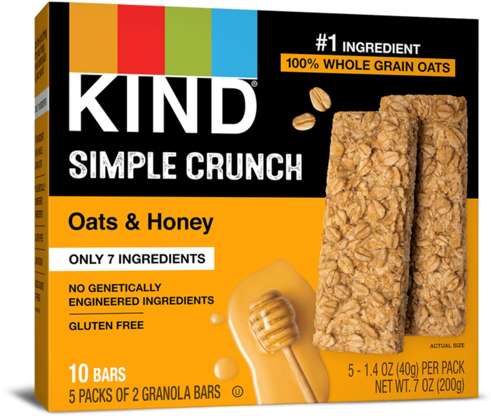 KIND Simple Crunch Bar Oat & Honey