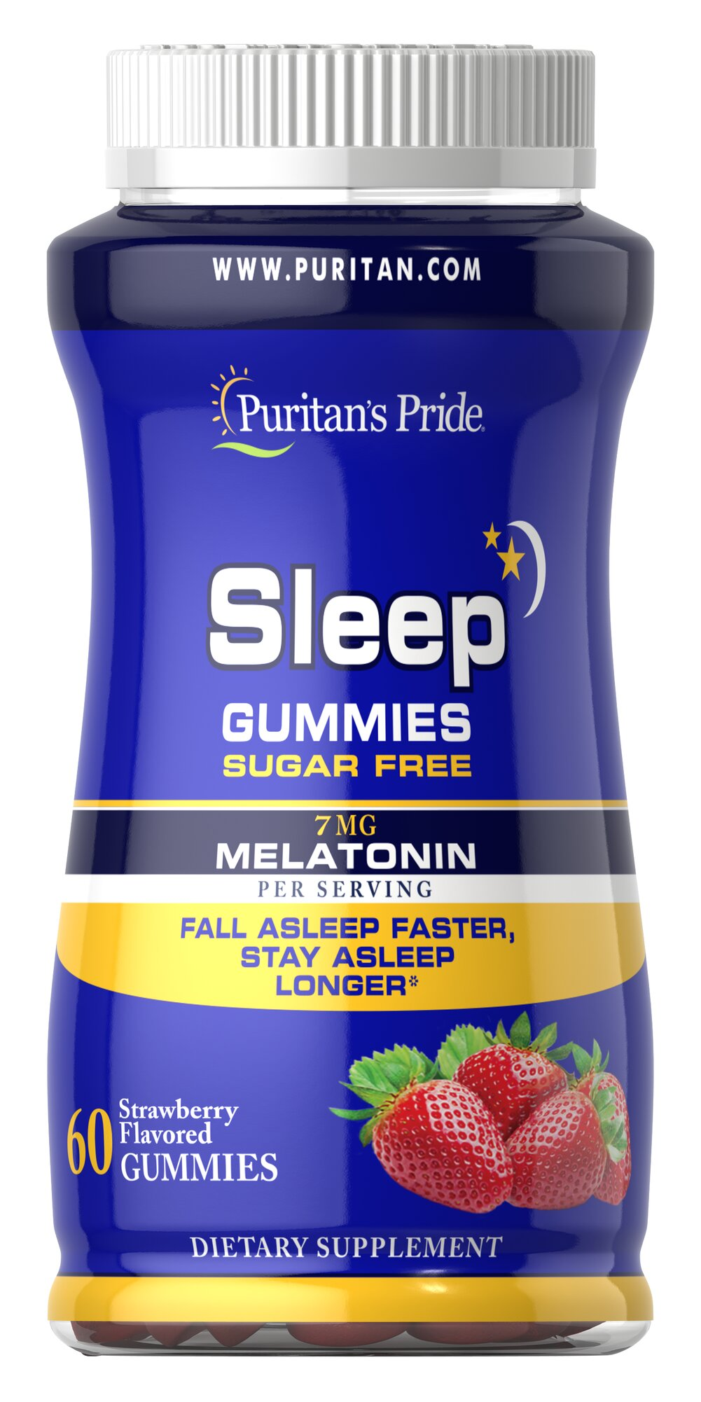 Sugar Free Sleep Gummies Thumbnail Alternate Bottle View