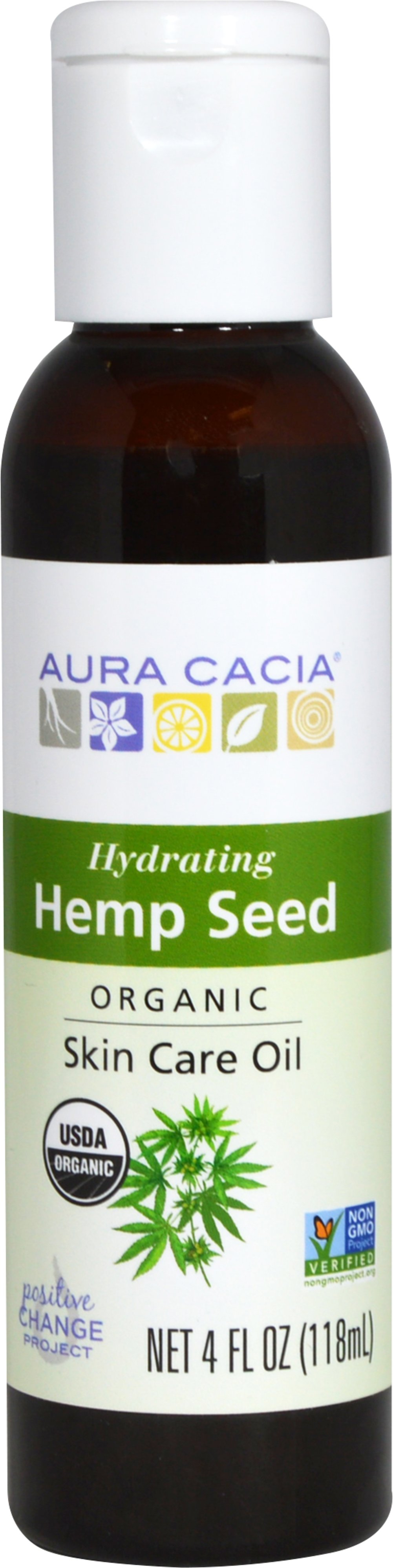 Organic Hemp Seed Skin Care Oil