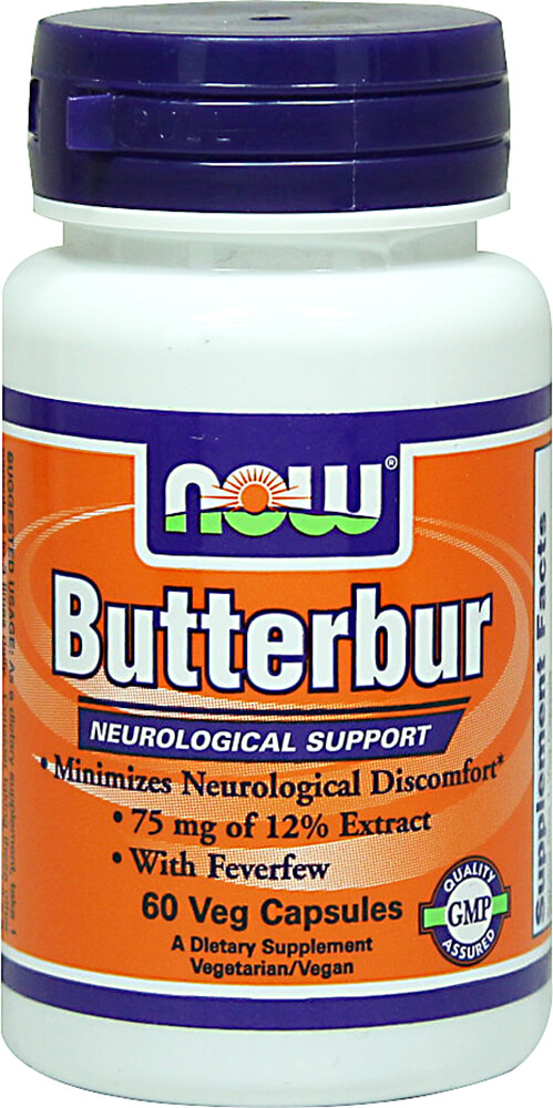 Butterbur Extract 75 mg with Feverfew 200 mg