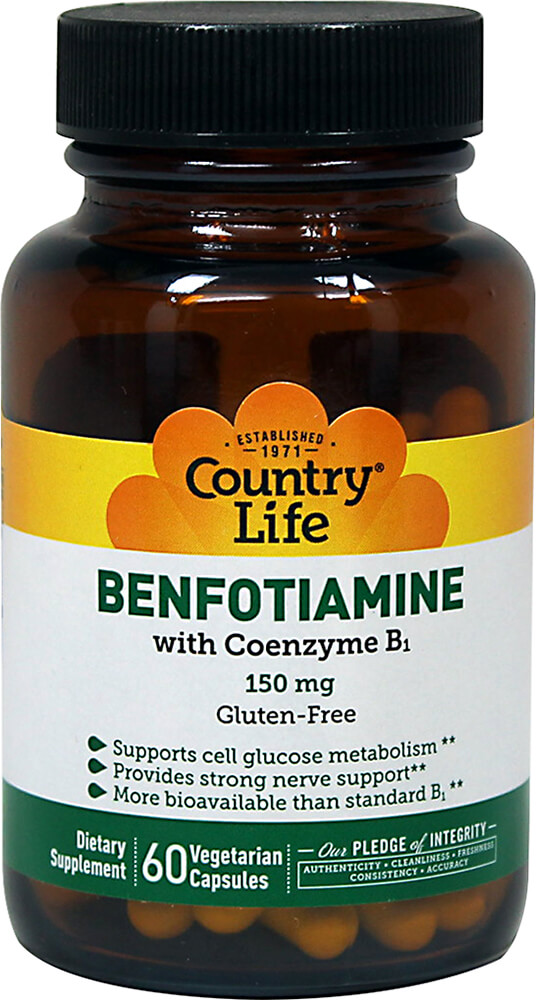Benfotiamine 150 mg with Coenzyme Vitamin B1