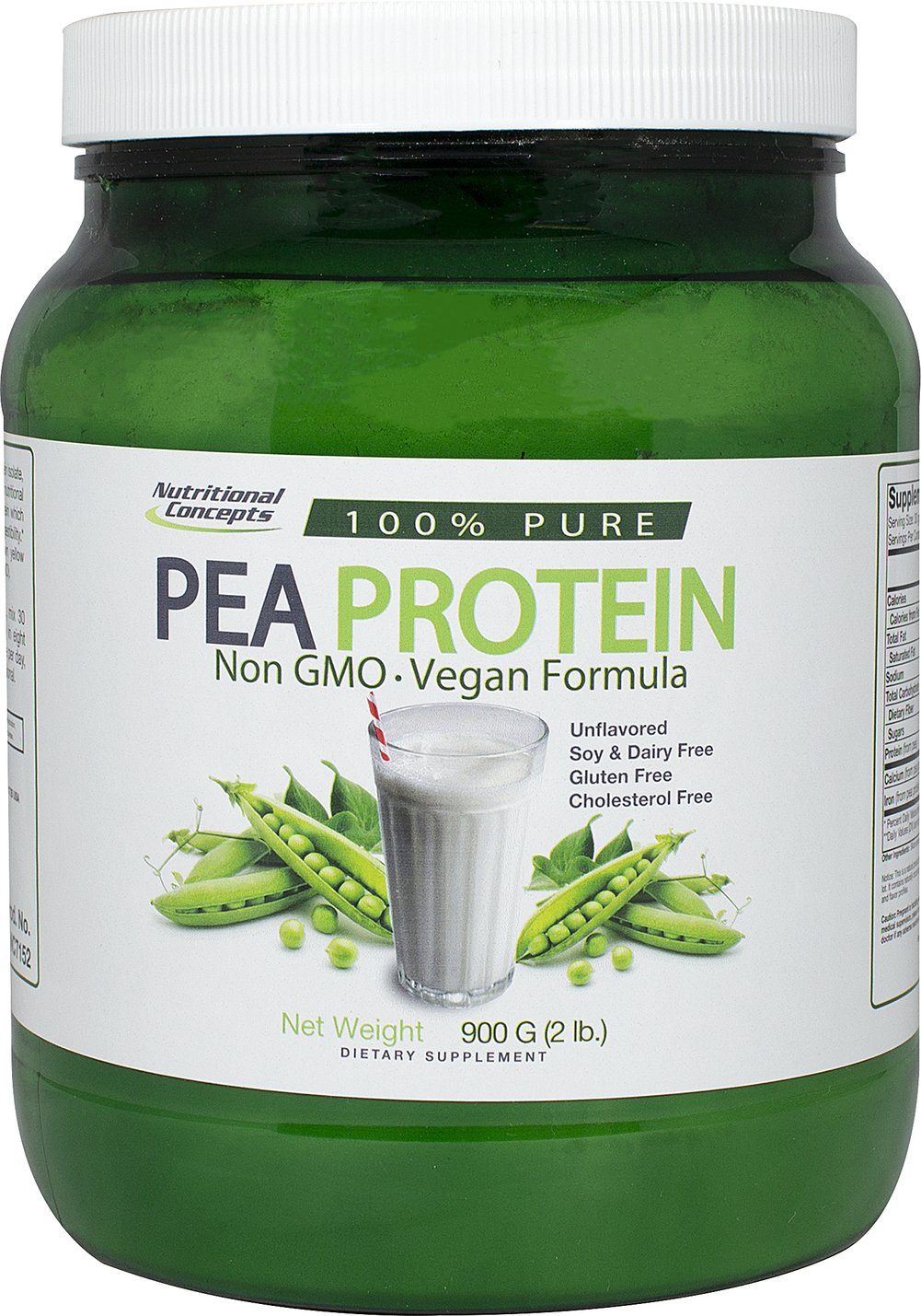 Pea Protein Thumbnail Alternate Bottle View