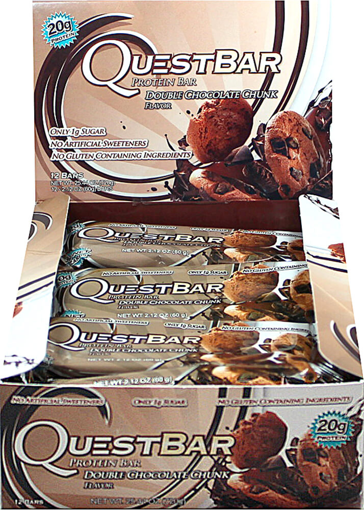Quest Protein Bar Double Chocolate Chunk