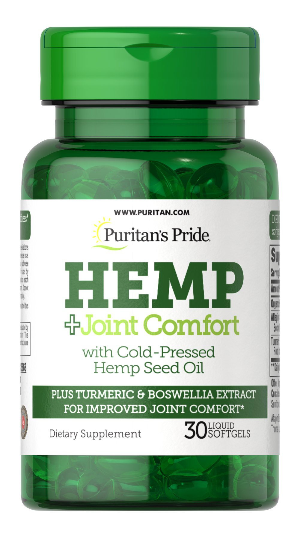 Hemp + Joint Comfort Thumbnail Alternate Bottle View