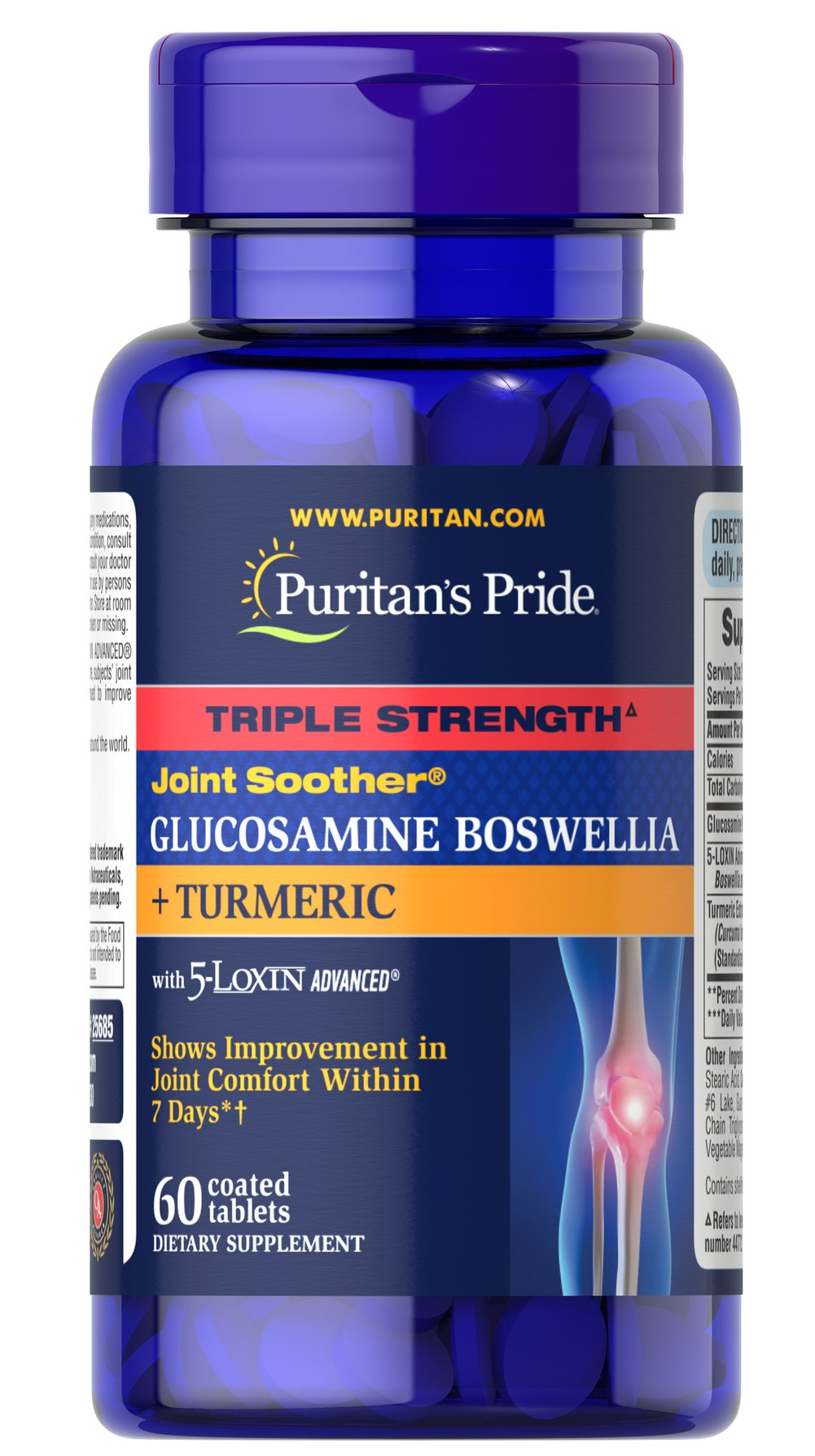 Triple Strength Joint Soother® Glucosamine Boswellia + Turmeric