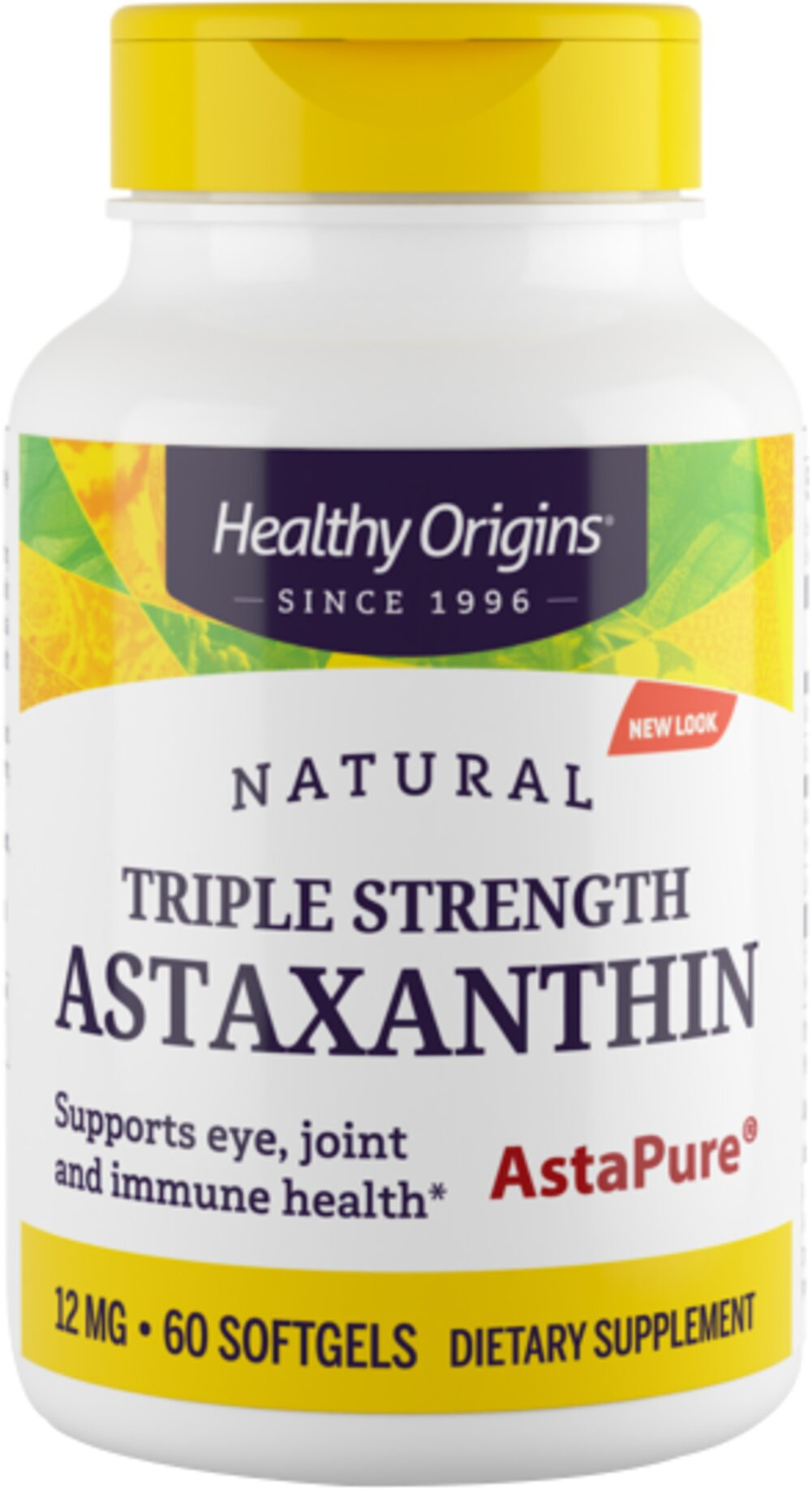 Triple Strength Astaxanthin 12 mg