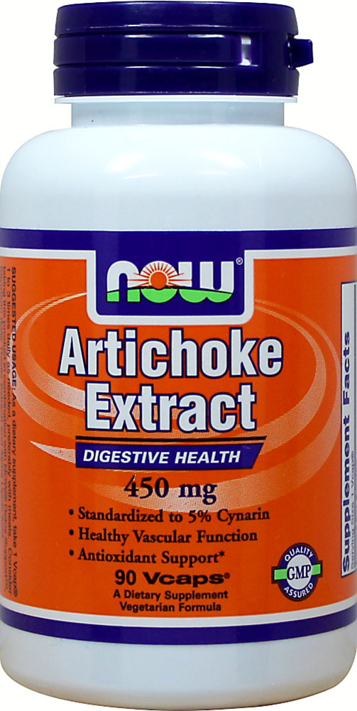 Artichoke Standardized Extract 450 mg