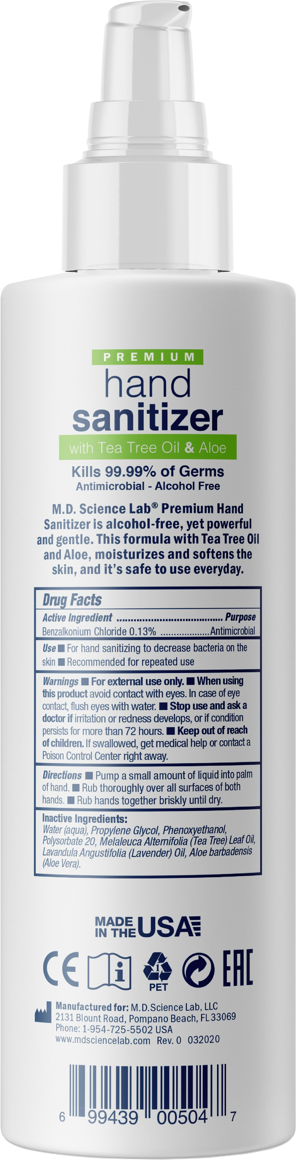 Hand Sanitizing Spray