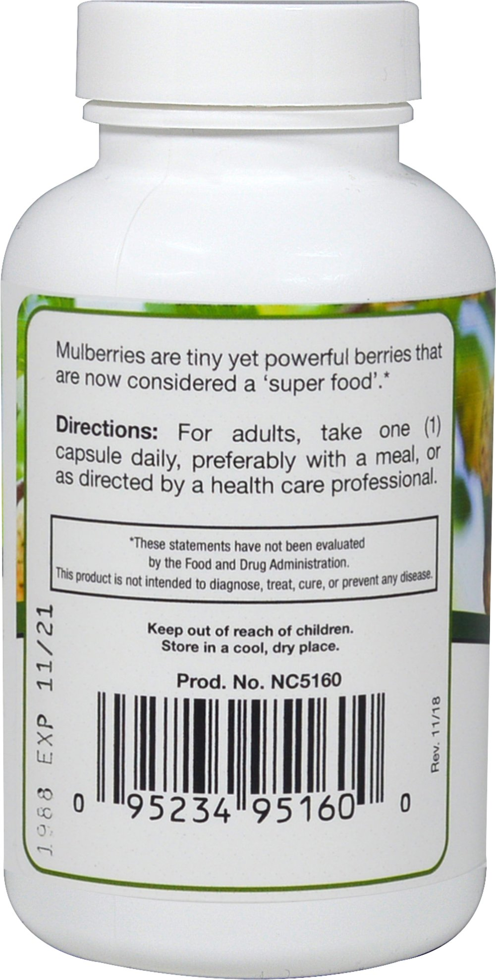 Mulberry Leaf 1,000 mg