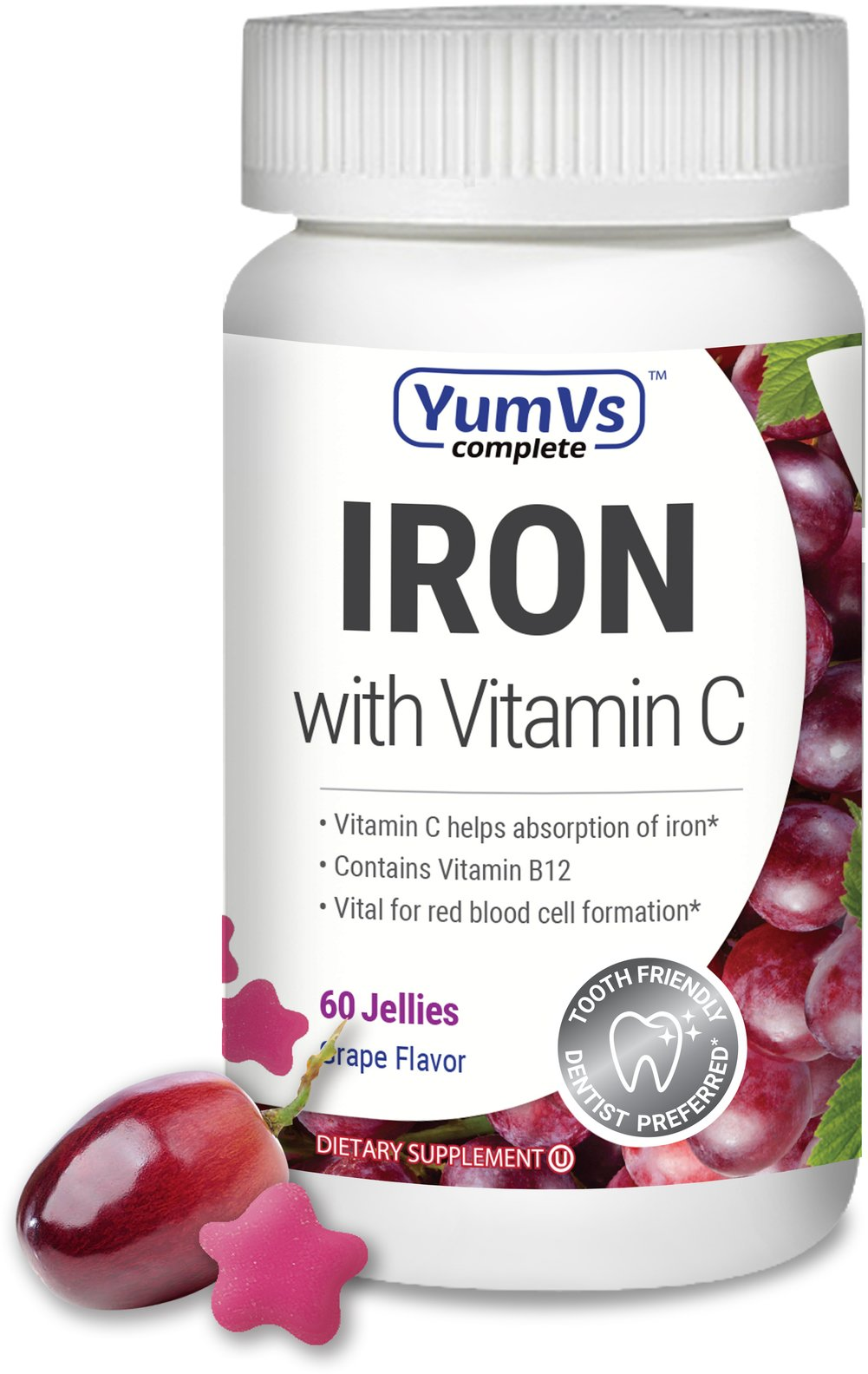 Iron with Vitamin C Jellies
