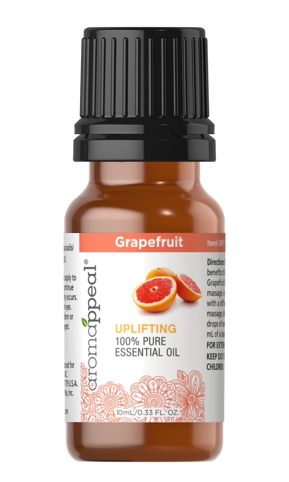 Grapefruit 100% Pure Essential Oil Thumbnail Alternate Bottle View