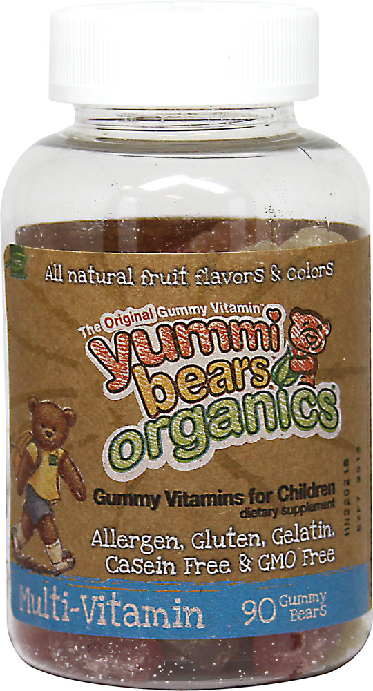 Yummi Bears® Organic Multivitamins