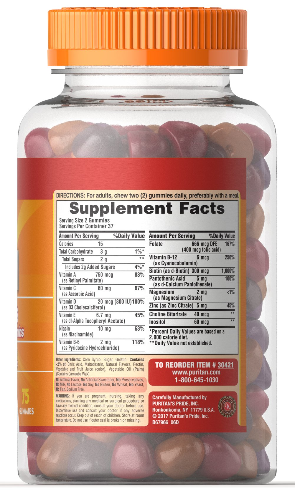 Adult Gummy Multivitamin