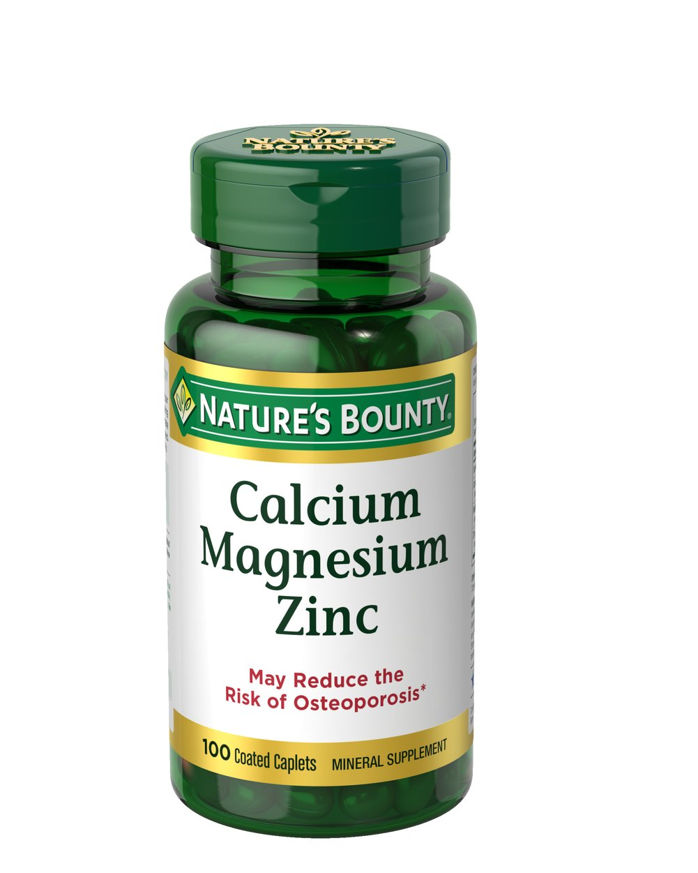 Nature's Bounty® Calcium, Magnesium and Zinc