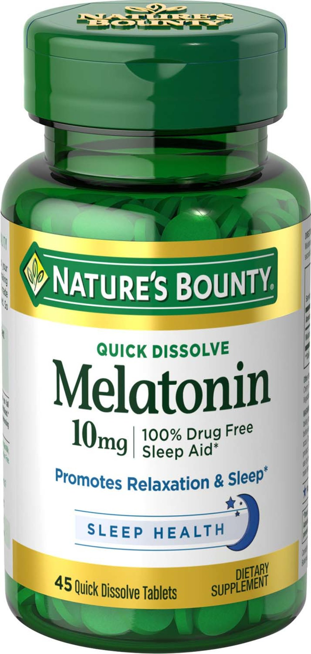 Nature's Bounty® Quick Dissolve Melatonin 10 mg