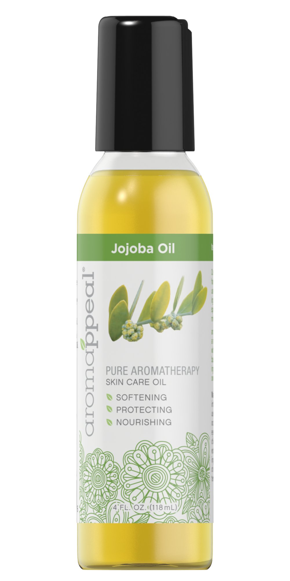 Jojoba Carrier Oil Thumbnail Alternate Bottle View