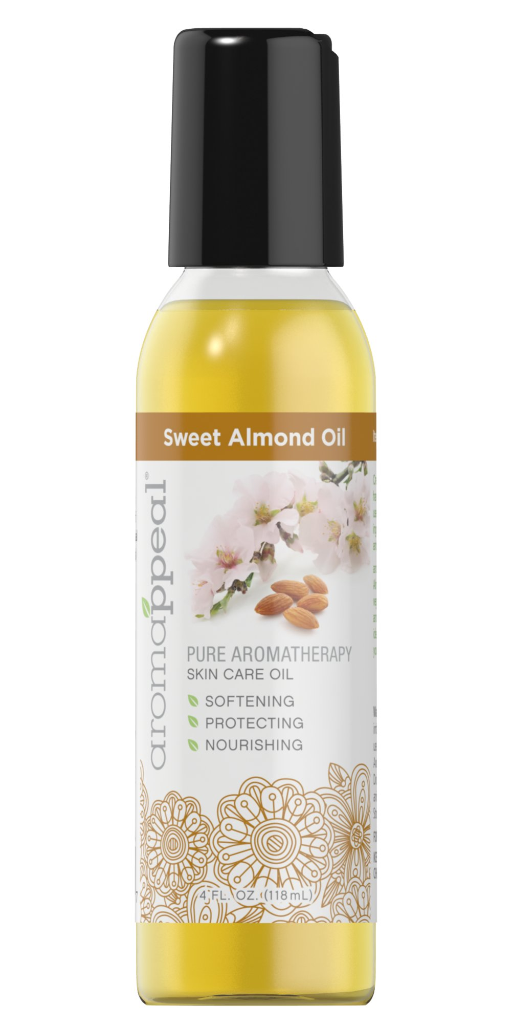 Sweet Almond Carrier Oil Thumbnail Alternate Bottle View
