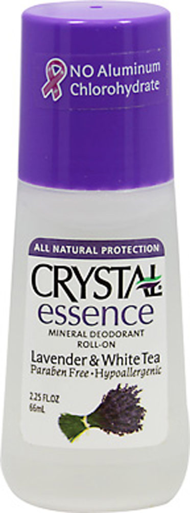 Crystal® Lavender & White Tea Mineral Deodorant Roll-On
