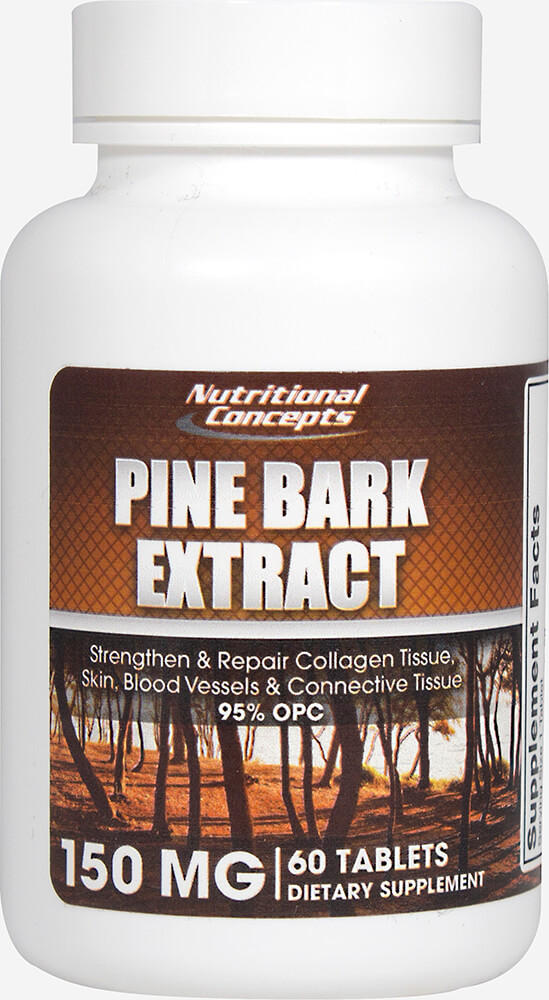 Pine Bark 150 mg Thumbnail Alternate Bottle View