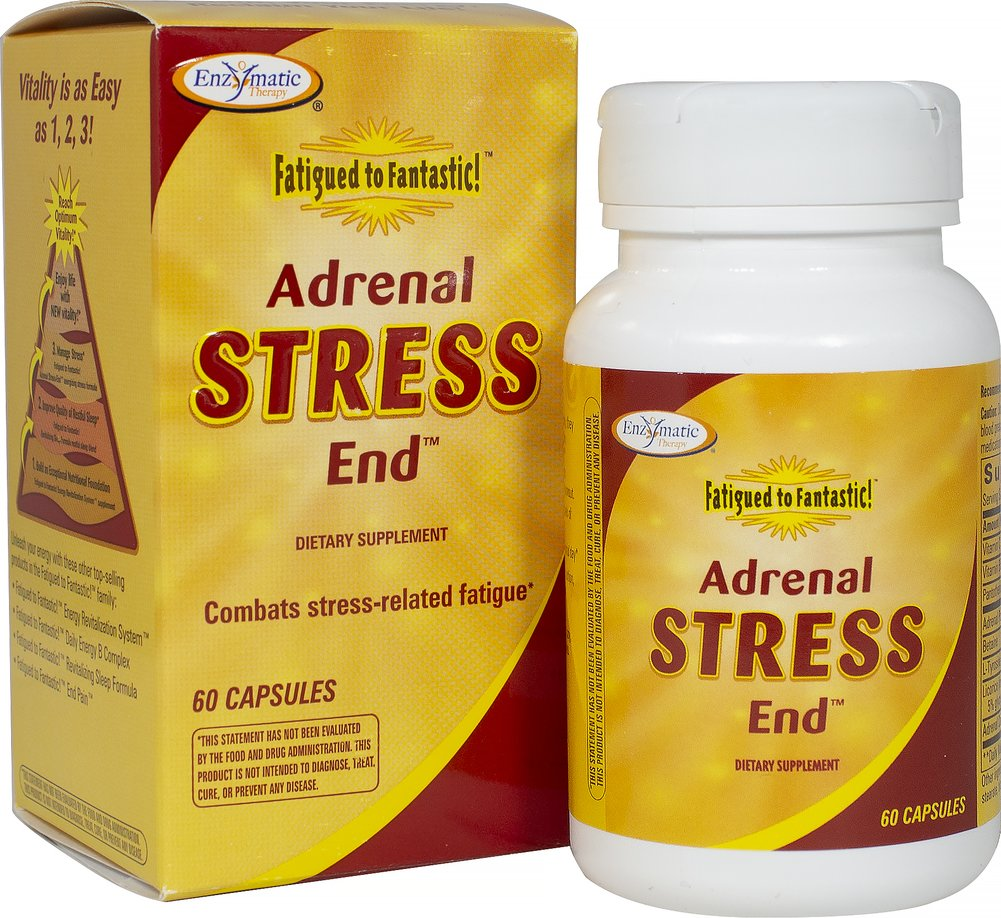 Fatigued To Fantastic™ Adrenal Stress End™ Thumbnail Alternate Bottle View