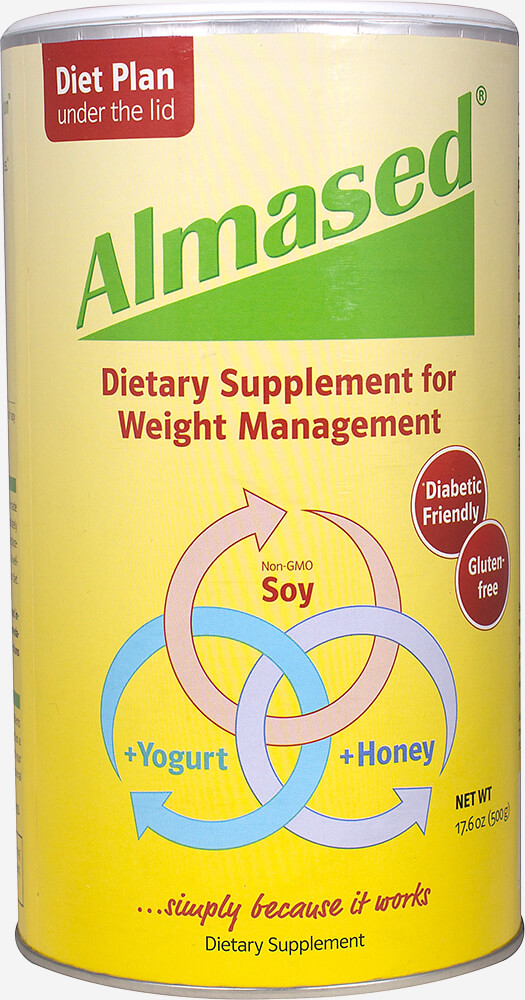 Almased Synergy Diet Thumbnail Alternate Bottle View