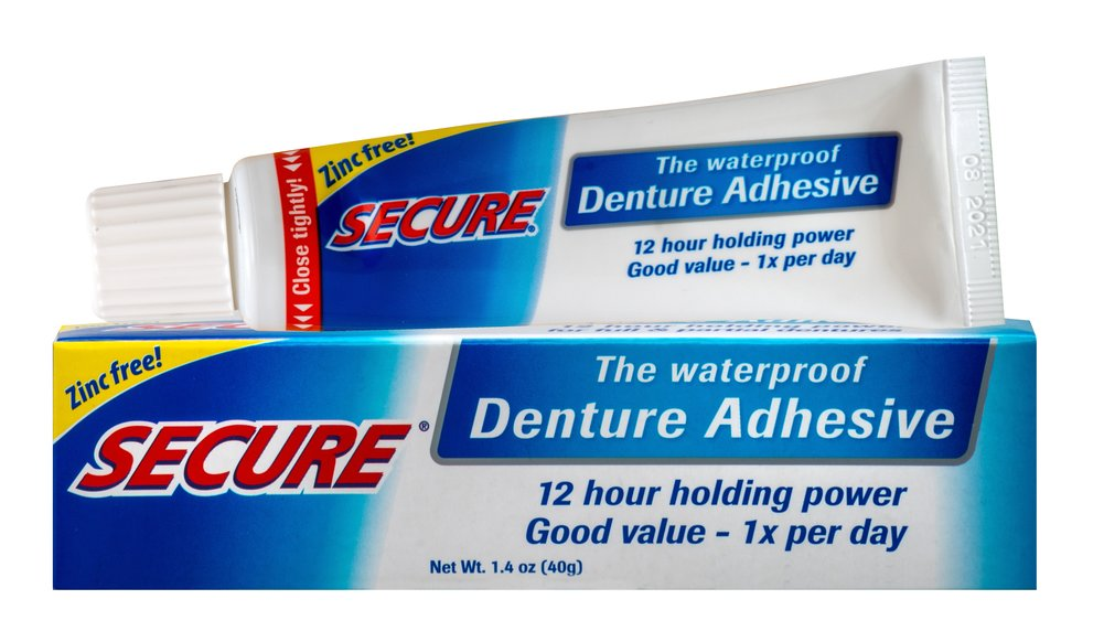 Secure® Denture Adhesive Cream